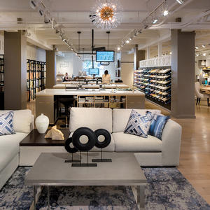 Kravet's new showroom balances high-tech with high-touch