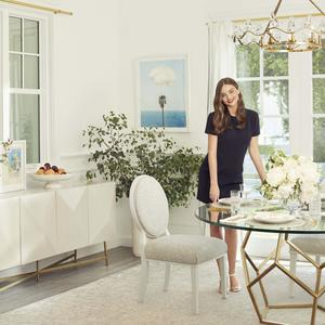High fashion meets High Point: Model Miranda Kerr launches a furniture line