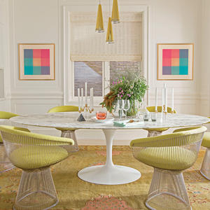 Cutting the rug: Do carpets have a place in the dining room?