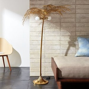 Ocean palm floor lamp 2