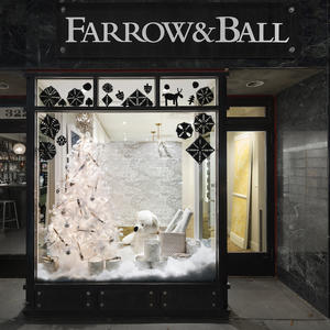 Farrow & Ball unveils designer window displays for DIFFA