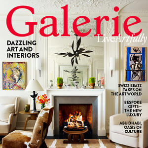 SANDOW now major partner in Galerie Magazine