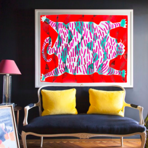 You can now shop showhouse finds (and original prints) at Chairish