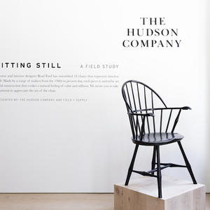 Brad Ford creates 'a space for pause' using chairs