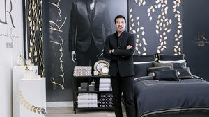 Lionel richie home launch  courtesy jc penney