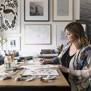 Anna Bond, co-founder of Rifle Paper Co., shares her story
