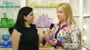 Two designers share dinnerware and crystal sources at FortyOne Madison