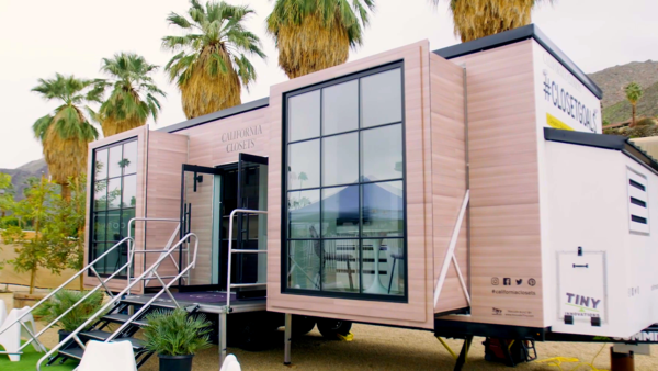 California Closets debuts mobile showroom