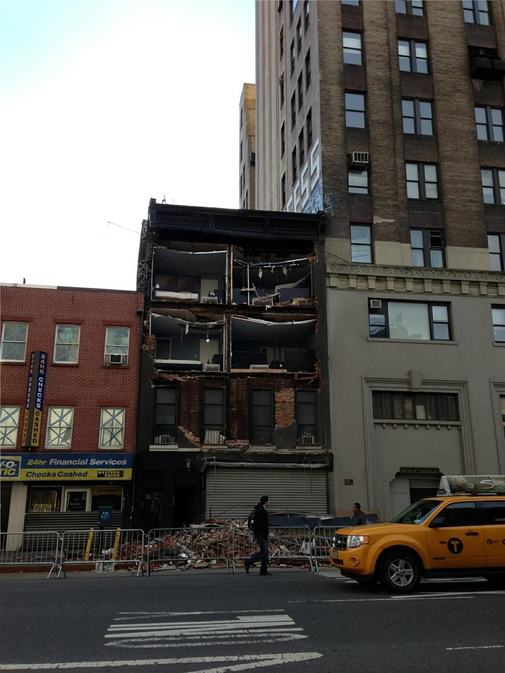 Damages have been estimated at $29.4 billion in New Jersey and $41.9 billion in New York, including about $19 billion in Manhattan.