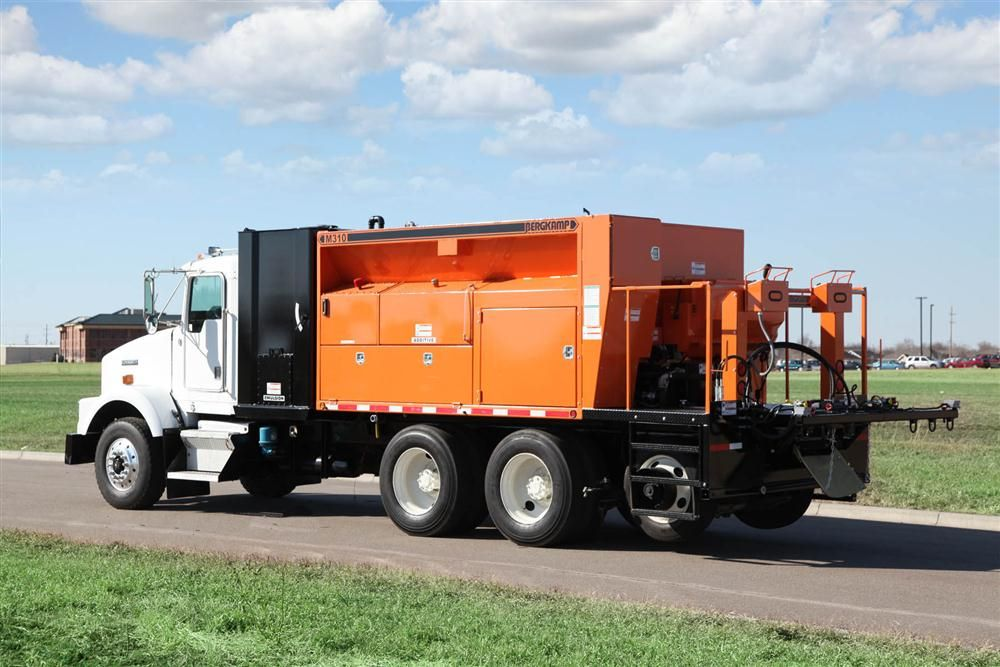 Bergkamp Inc. has been manufacturing pavement maintenance equipment since 1980.