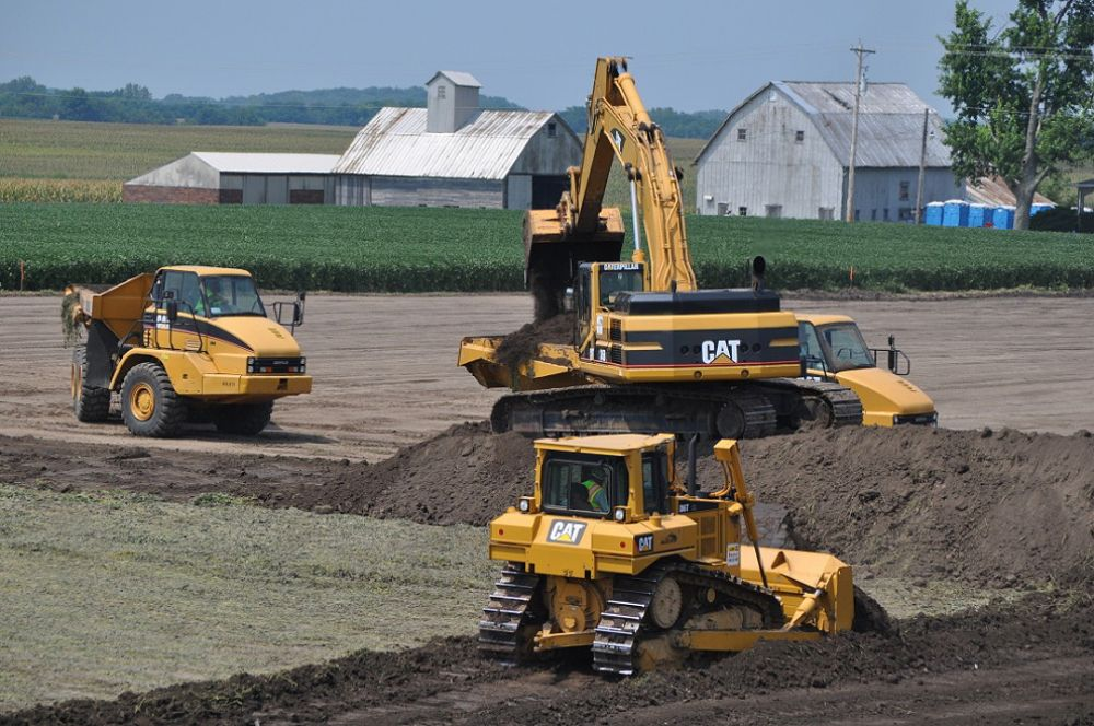 Farm Implement Pieces : Wind farm requires major earthwork story id