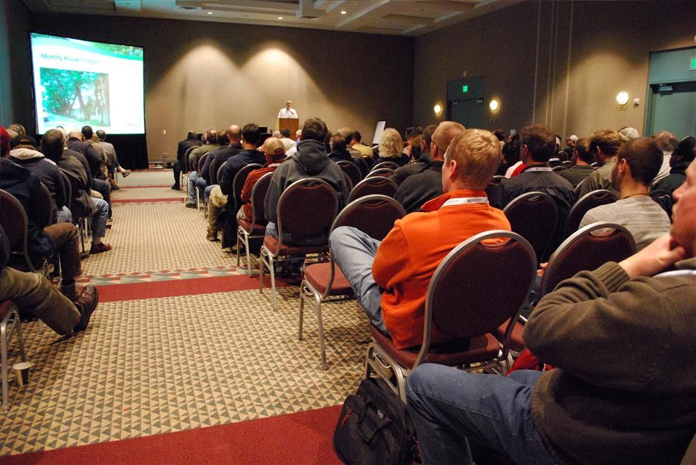 Show attendees were able to attend seminars.