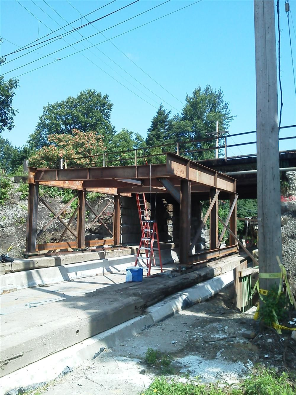 The $27.4 million Ohio Department of Transportation project also includes structure repairs, concrete patching work, and other infrastructure for the bridge built in 1976.