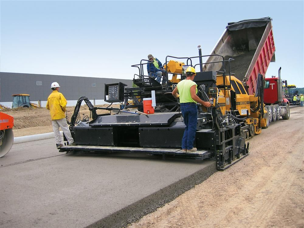 Rcc Construction Company : Rcc gomaco excel on ohio industrial loop road story id