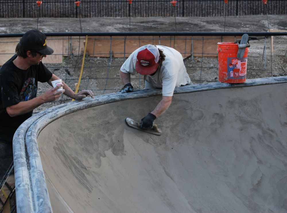 Evergreen Skateparks, a small, family-owned business comprised of passionate skateboarders, was awarded the bid for the project for $200,000, not including the $35,000 received in donations.