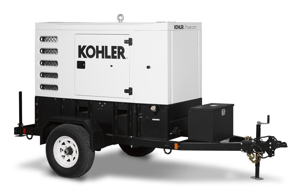 Kohler's entire range of the new line will include 11 diesel gensets ranging from 35 to 680 kVA and four liquid-propane gensets ranging from 30 to 125 kVA.