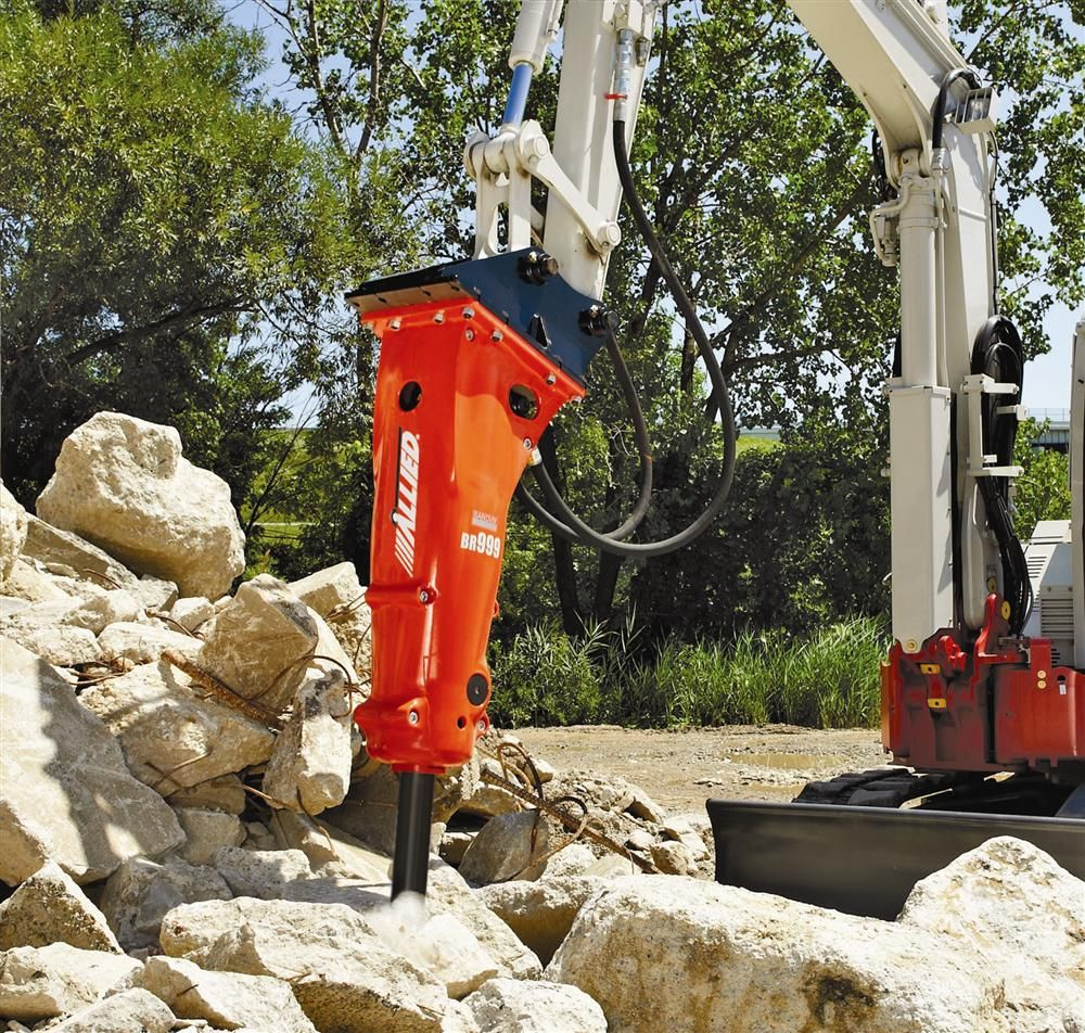 Allied Construction Products LLC has introduced three all-new Rammer small range breakers — 555, 777 and 999.