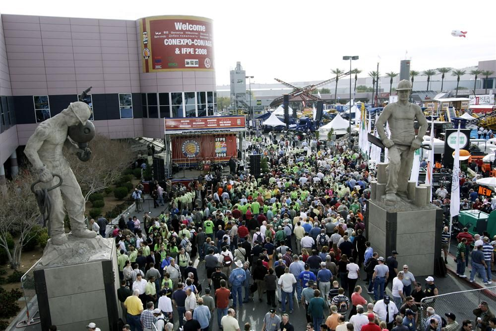 Iron Rush: 2008 ConExpo Draws Construction Industry to Vegas
