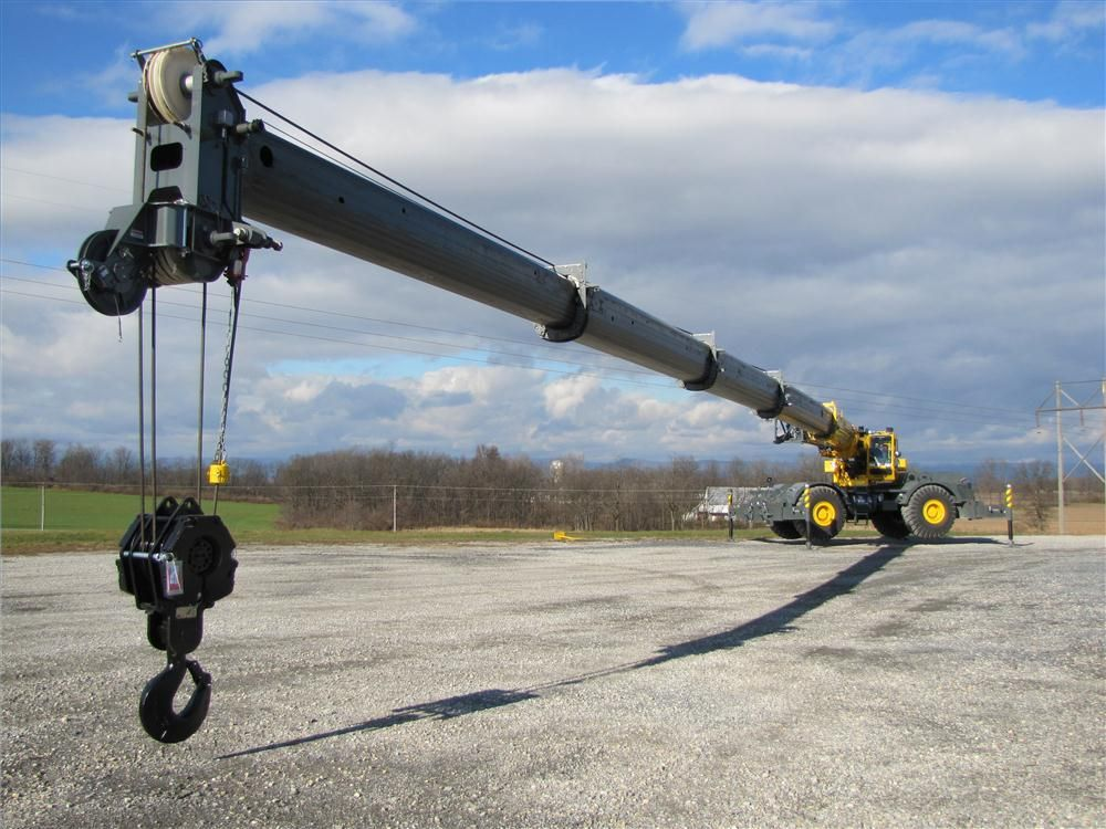 Tractor Hydraulic Boom Crane : Grove s rt e to debut story id  construction