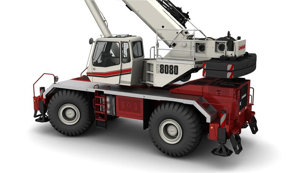 Link-Belt is adding reach and capacity to its rough terrain crane line with the new 150 ton (135 t) RTC-80150 Series II.