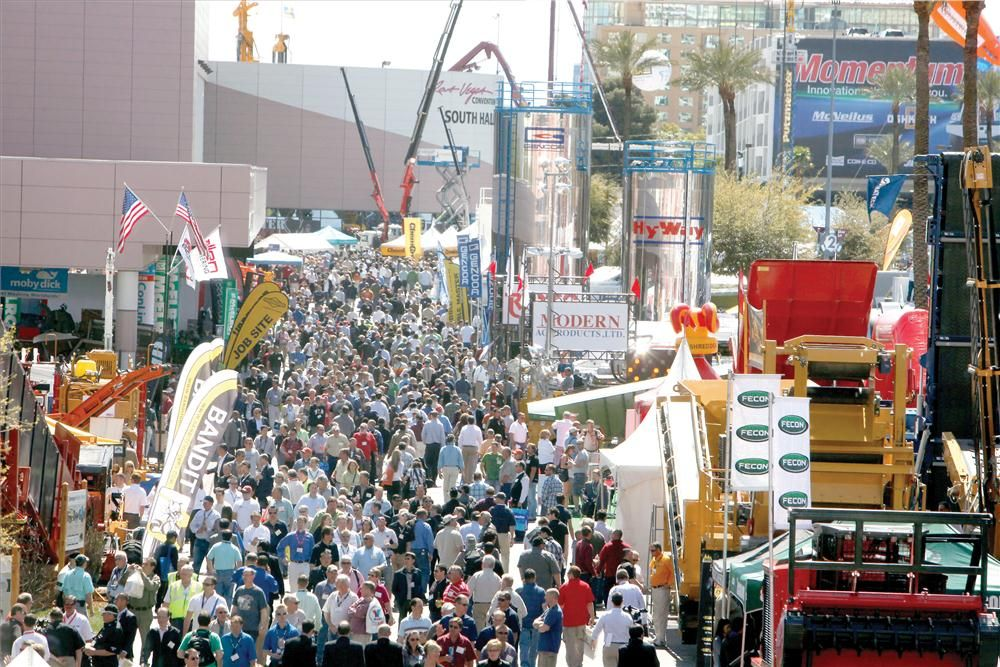 ConExpo 2011 Attracted Hundreds of Thousands to Vegas