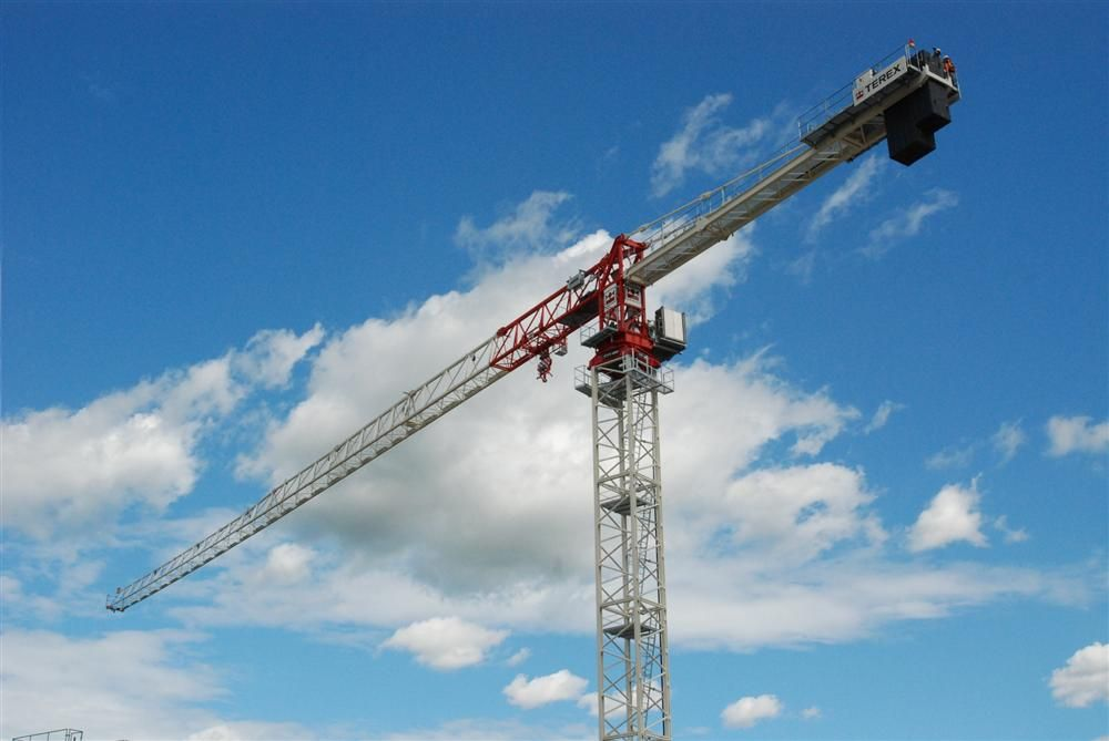 Terex Cranes launched its new CTT 321 flat top tower crane.