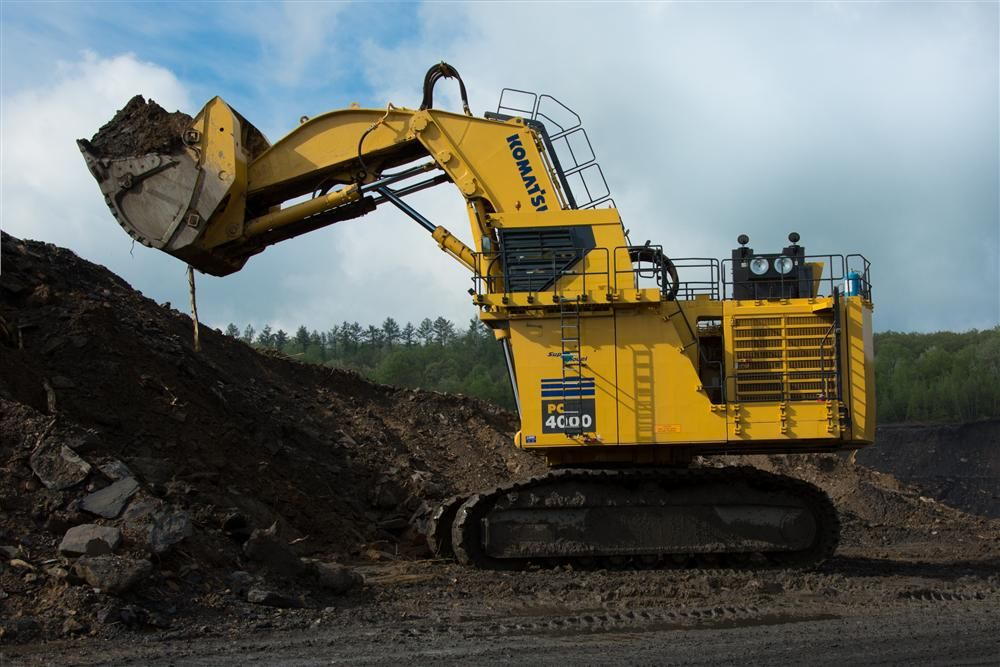Komatsu's PC4000 hydraulic shovel is designed with the goal of helping mining customers move more material in less time for reduced costs per ton and increased profits.