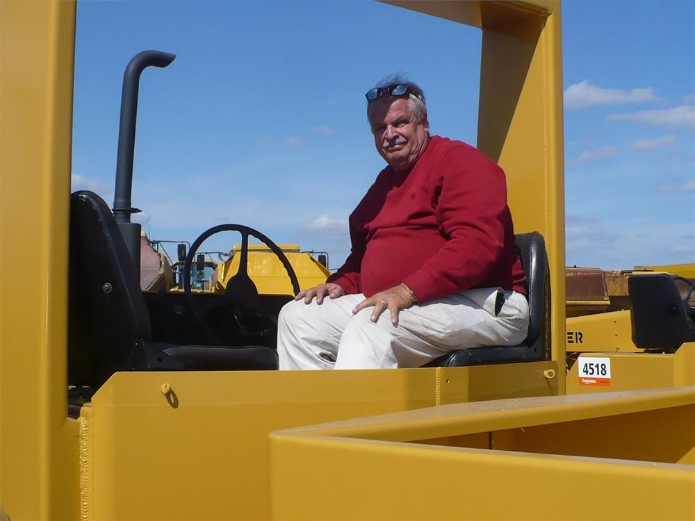 This HyPac traffic roller interested Jerry Randall of Progressive Contractor in Daytona Beach, Fla.