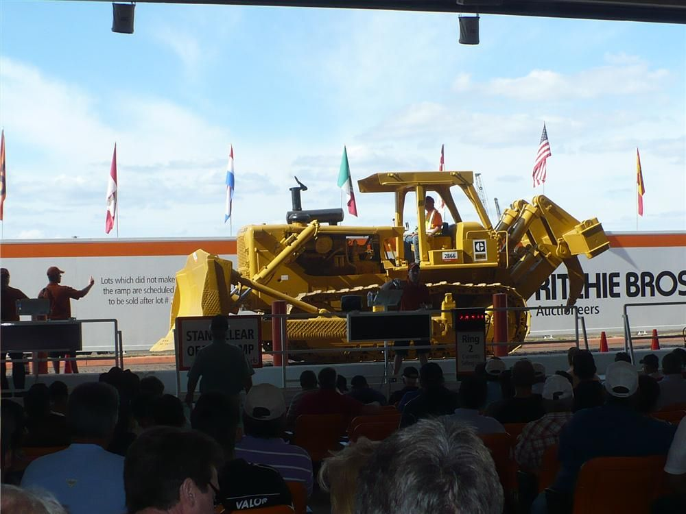 For those interested in older machines this 1978 Caterpillar D9H went for $37,000.