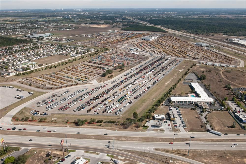 Ritchie Bros. held the world's largest heavy equipment auction in Orlando, Fla., recently and, in the process, broke multiple company records.