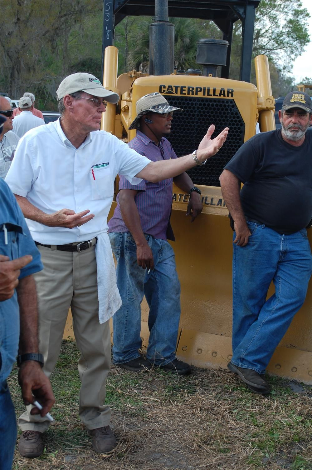 This Caterpillar dozer grabbed the attention of several bidders.