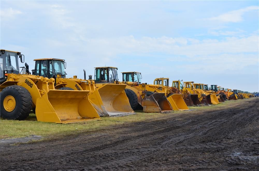 If you were looking to add some wheel loaders to your fleet, the Yoder & Frey auction was the place to be.