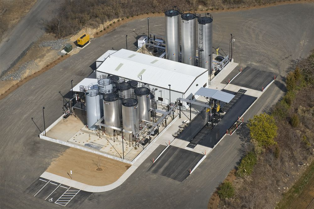 The Blythe Construction emulsion plant in Charlotte, N.C.