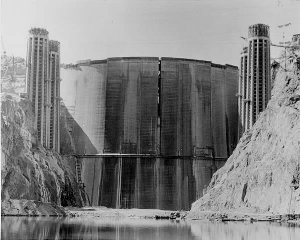 Hoover Dam's flood protection allowed the creation of Lake Havasu further downstream. This reservoir supplies water to the cities of Southern California and Arizona.