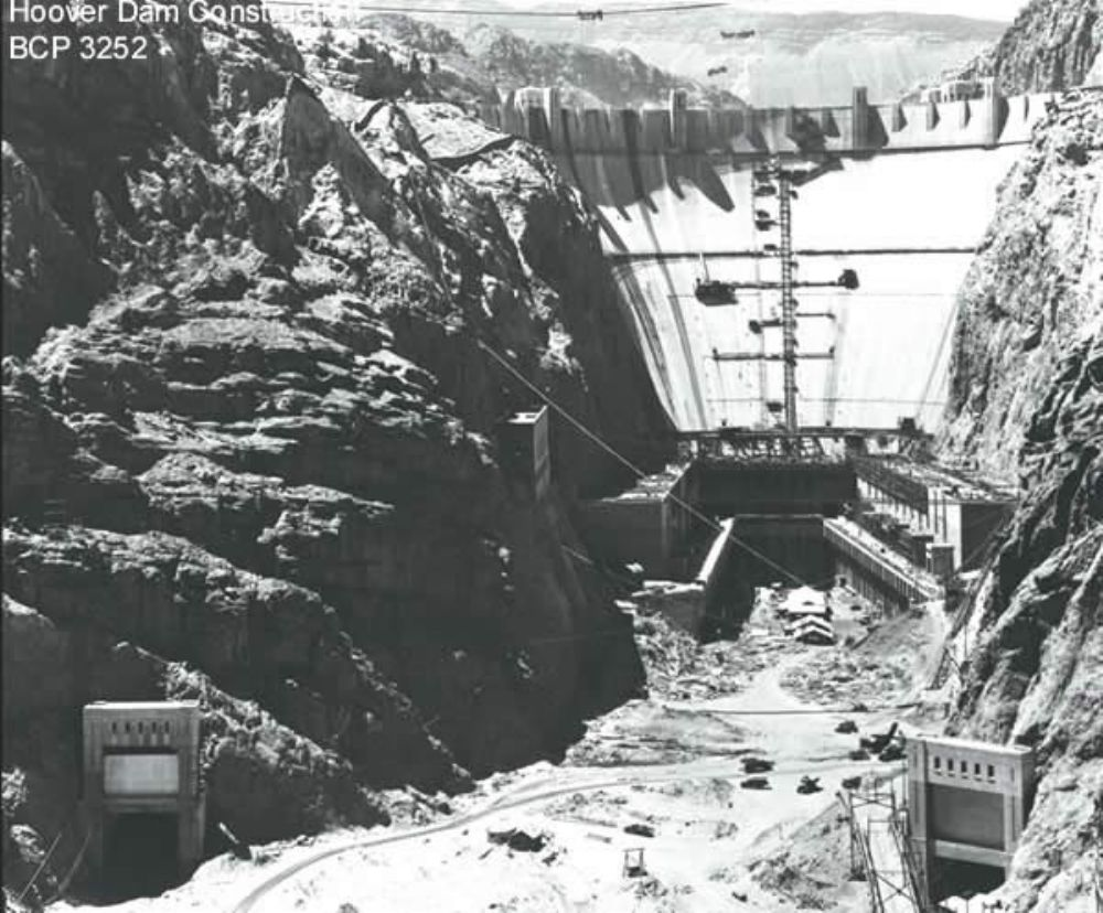 In 1931, the new planned dam was unofficially called Hoover Dam to honor President Herbert Hoover, whose term was to end in 1933.
