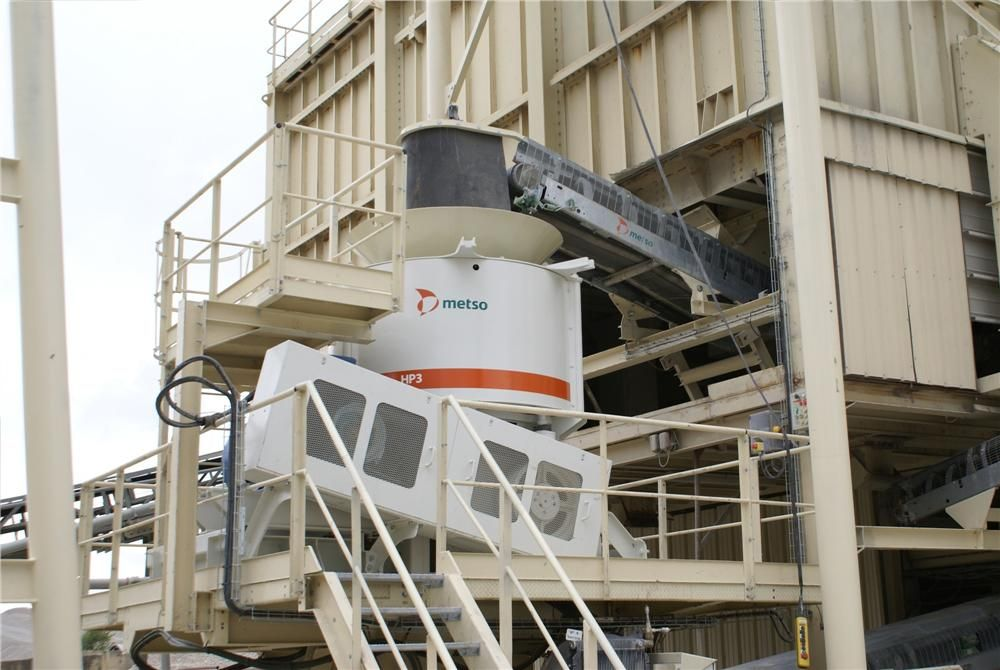 The new Metso HP3 cone crusher offers maximum productivity at lower cost per ton.