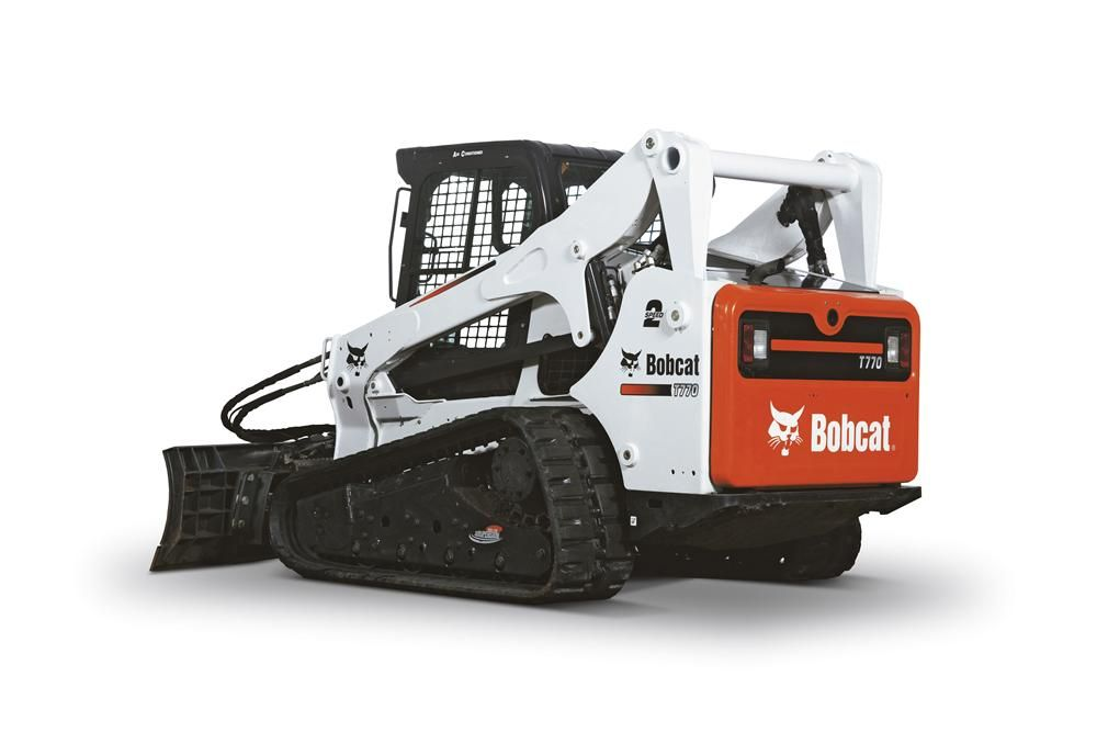 Bobcat Skid Steer Track Loader : T compact track loader is first machine unveiled in