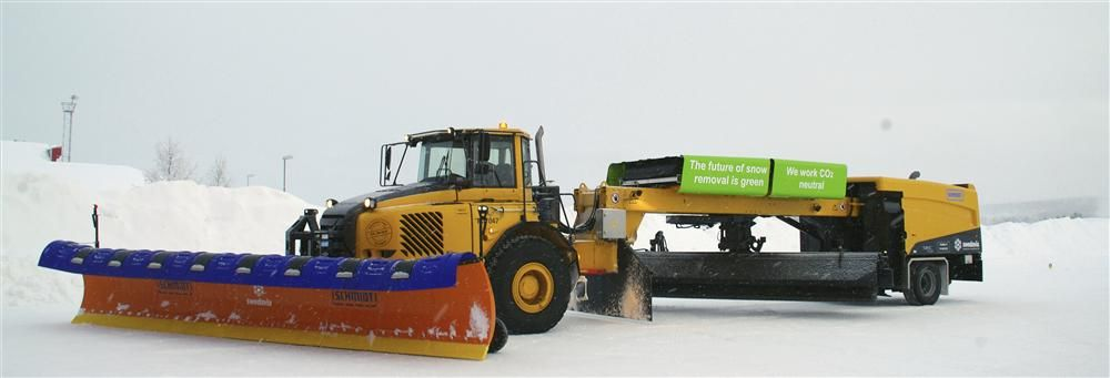 The biogas powered airport snow sweeper, delivered by AEBI Schmidt to Swedavia, is just one of the success stories to come out of Volvo CE's OEM business model approach.