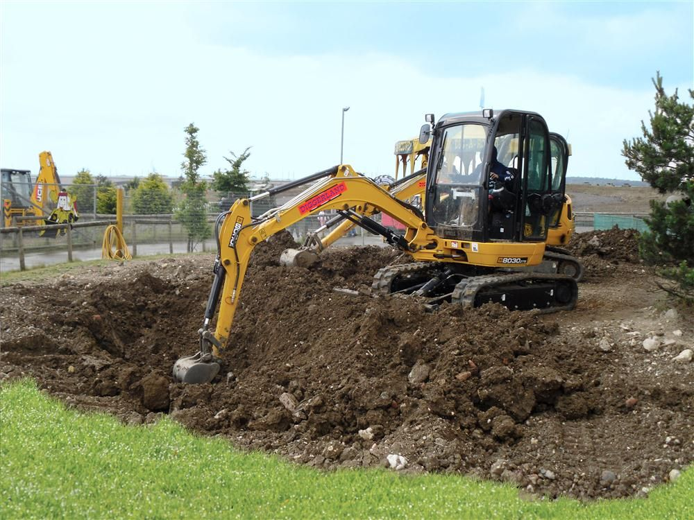 DiggerlandUSA.com photo The Diggerland adventure park will feature a mix of 90 percent JCB and 10 percent Terex equipment, providing visitors with supervised opportunities to ride, drive and operate full-sized big iron such as skid steer loaders, tractor