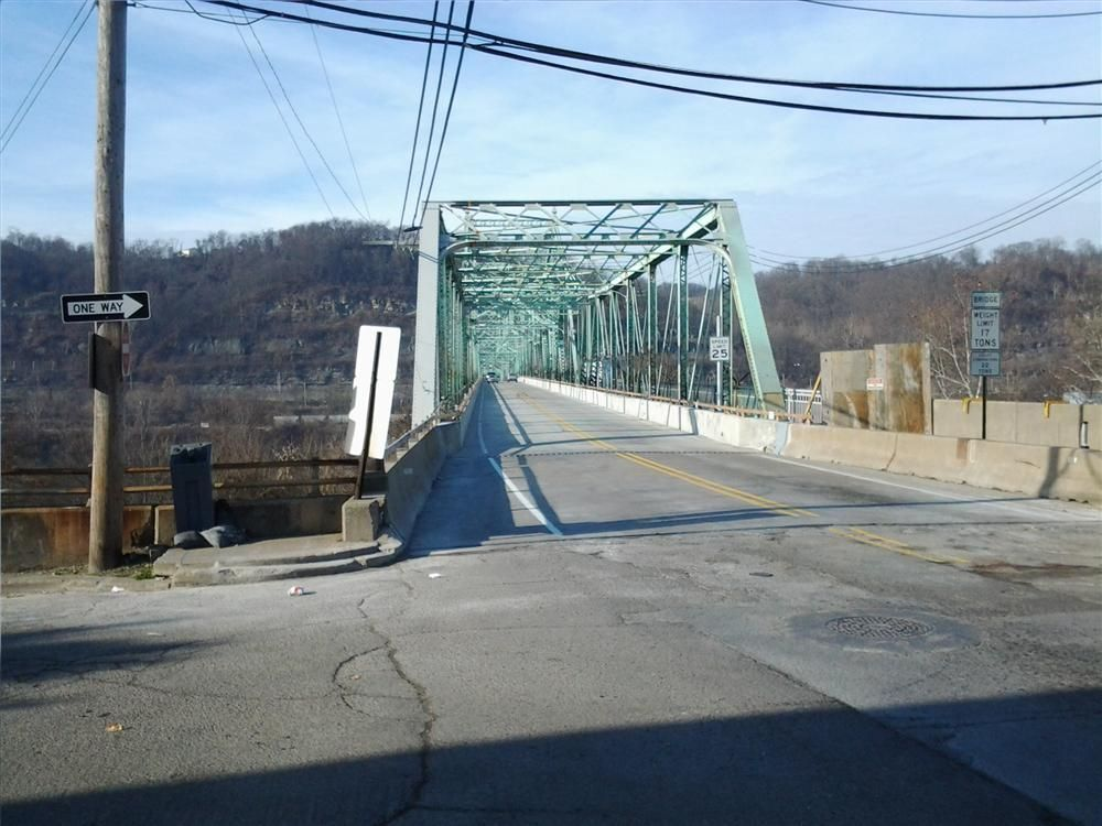 The 2,000-ft. (610-m) long bridge was originally built in 1927, and the approach spans were completed in the late 1950s during the construction of Route 65 and Route 51. The 85-year-old bridge is eligible for listing in the National Register of Historic P