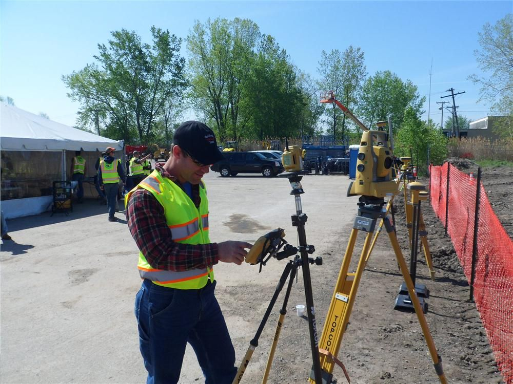 Jeff Moore of Parker Land Surveying in Oneida, N.Y., took a trip out to find out more about the new Robotic Transits from Topcon.