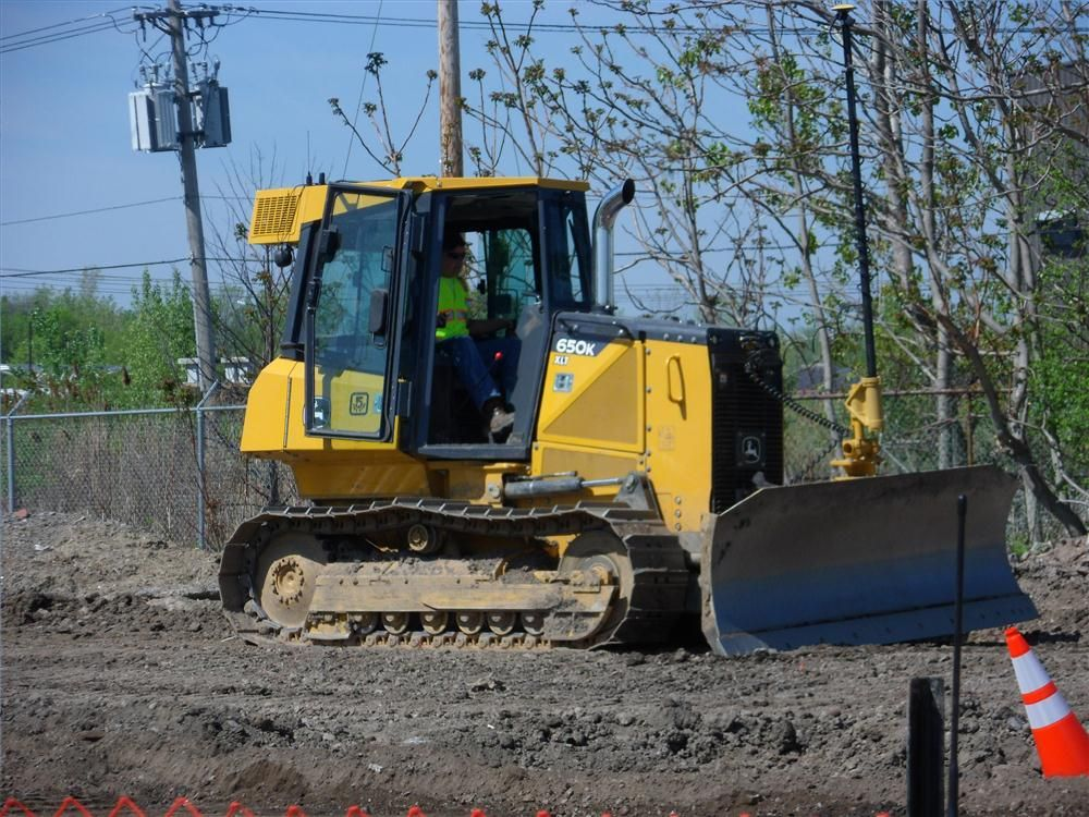 Attendees were able to try out all the machines so they could actually see what the Topcon equipment could do for them.