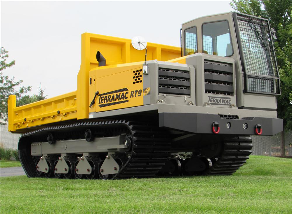 Terramac LLC recently completed its 100th RT9 rubber-track crawler carrier. The multi-purpose Terramac RT9 crawler carrier has been customized to fit more than 15 different industry specific applications and can tackle a variety of jobs, including suppres