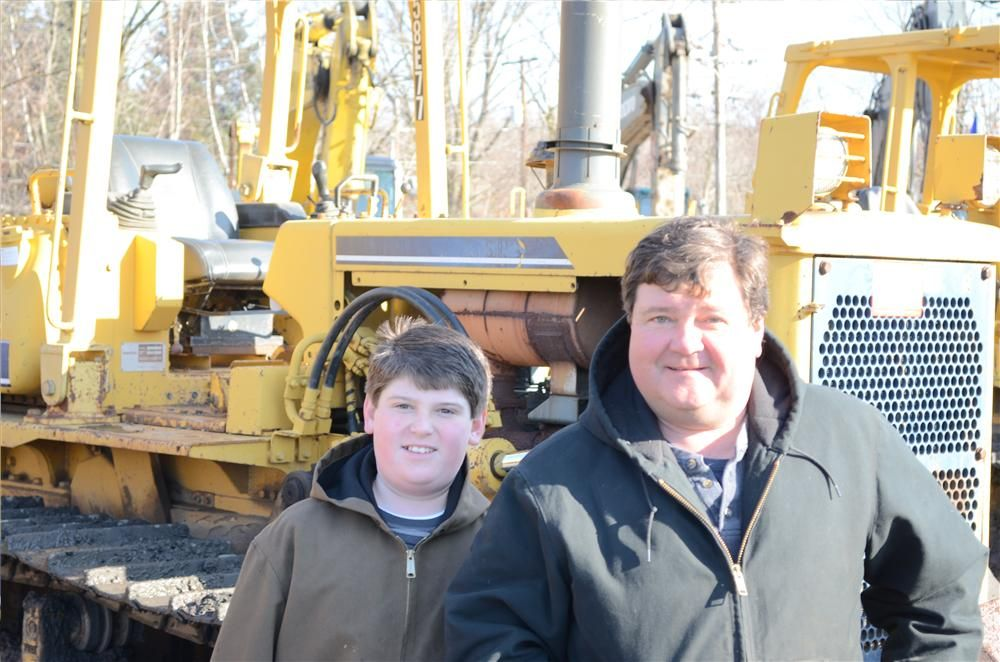 Jim Thornton attended the auction with his father, Jim Thornton, owner of JT Recycling, Carbondale, Pa.