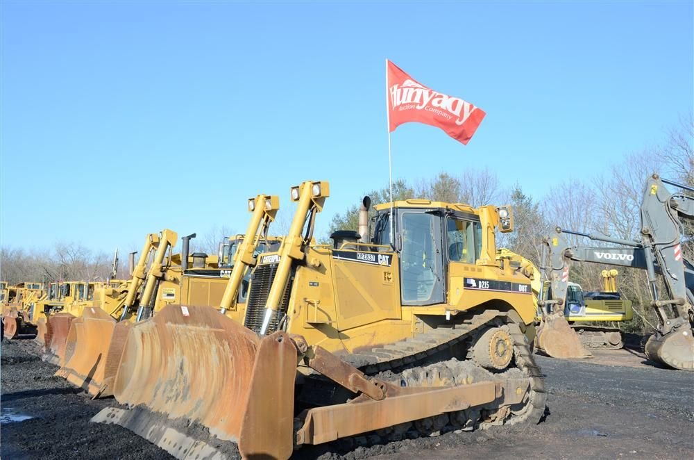 This 2005 Caterpillar D8T crawler tractor went for $235,000 at the Hunyady auction in Laflin, Pa.