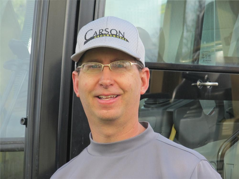 Having recently secured a second location, John Carson looks forward to expanding his rental operation.
