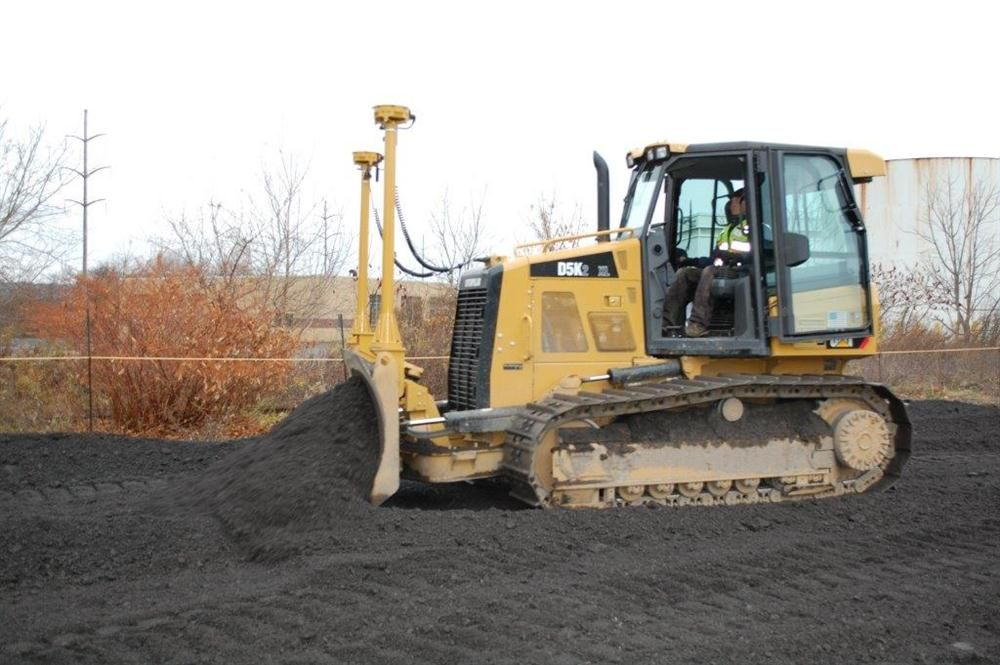 Sitech technology is demonstrated with this Cat D5K dozer.