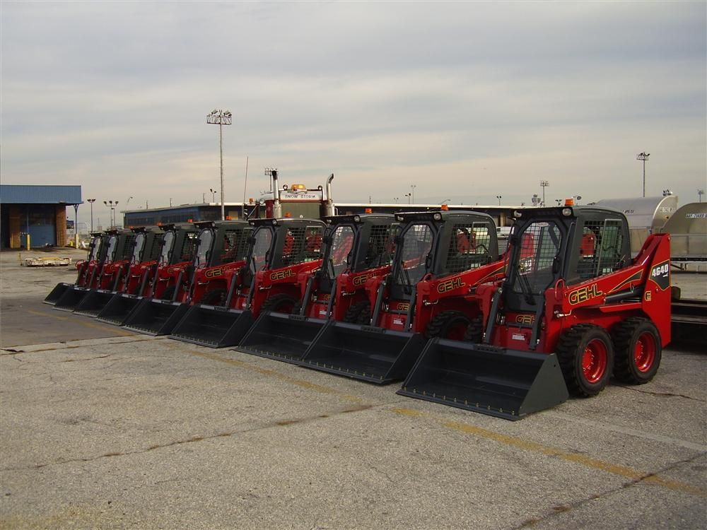 Snowlift has 13 new skid steers for its snow-clearing operations.
