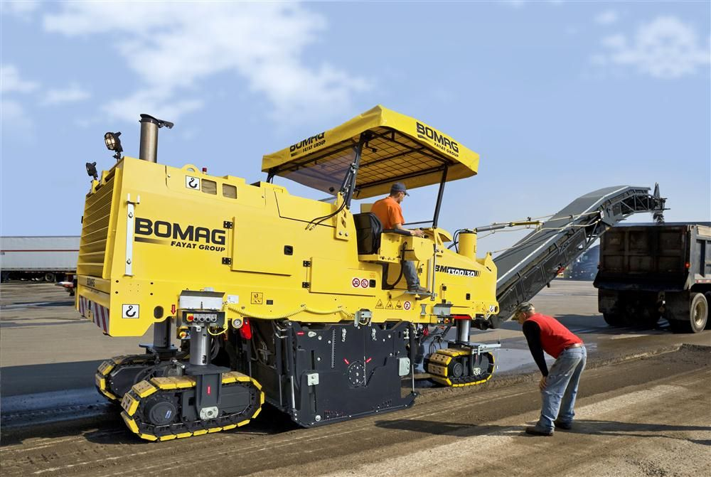 The BM 1300 milling machine is part of the preservation lineup C.N. Wood features.