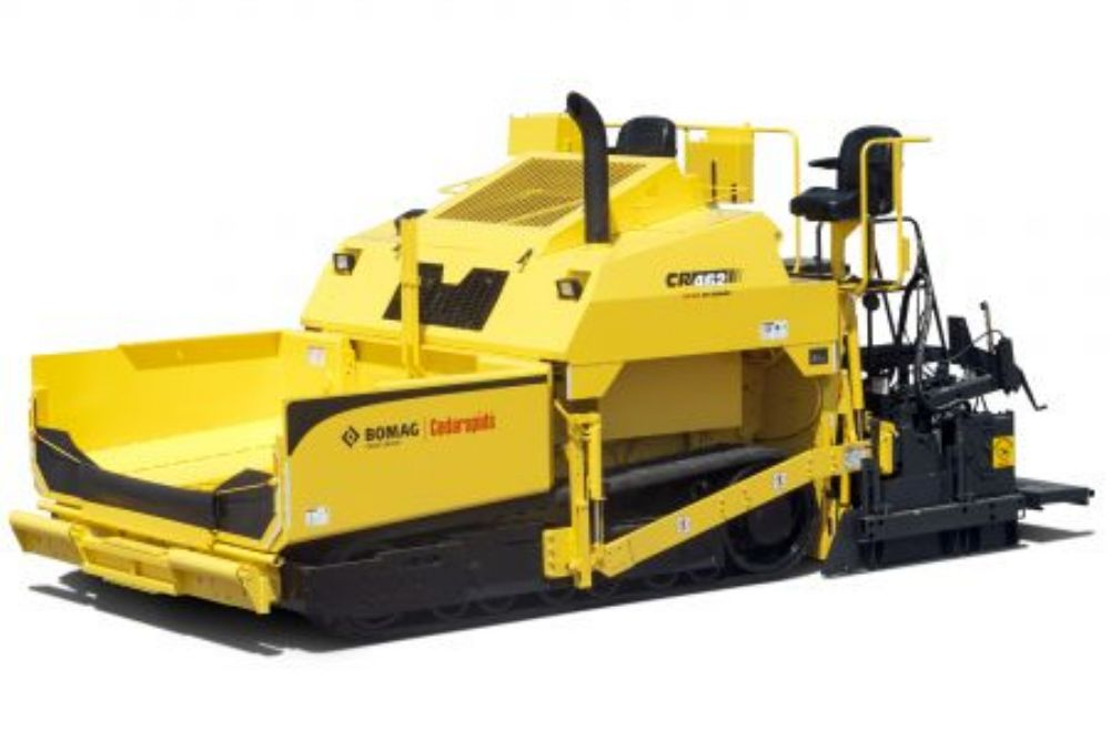 For public and private paving contractors, the  Cedarapids line boasts 8 and 10 ft. (2.4 and 3 m) paving equipment.